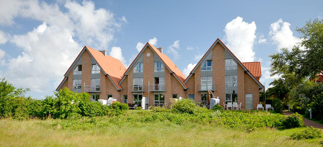 Residenzen am Süderdünenring auf Langeoog mieten