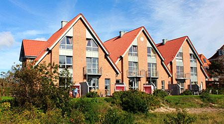 Ferienhäuser auf Langeoog Süderdünenring